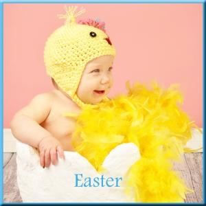 Website button Easter