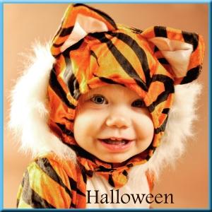 Website button halloween